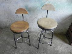 Krzesło, taboret barowy, hoker, LOFT, Industrial