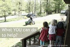 What you can do to help..... Ever wonder what you as a member of society, your community, or as a human can do to be supportive to those who have special needs children.... Read it here!!!