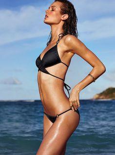 Monika Jac Jagaciak w katalogu Victoria's Secret Swim 2014, fot. serwis prasowy