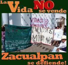 Zacualpan, Comala, Colima: territorio nahua libre de Megaminería tóxica