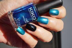 Kiko nail lacquer 521 Pearly Ocean