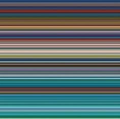 GERHARD RICHTER Strip 2012 150 cm x 150 cm Catalogue Raisonné: Numerical impression on paper between Alu Dibond and Perspex (Diasec) Gerhard Richter, New European Painting, Pop Americano, Abstract Expressionism, Abstract Art, Modern Art, Contemporary Art, Jean Arp, Arte Pop