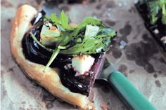 Beetroot thyme and goats cheese tart recipe, Bite – Who needs to go out to a cafe when you can make this stunning tart at home - Eat Well (formerly Bite) Tart Recipes, Cooking Recipes, Savory Tart, Savoury Pies, Vegetable Tart, Food Hub, Dinner For One, Cheese Tarts, Beetroot