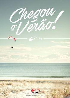 Seja bem vindo nosso querido Verão, iniciando hoje oficialmente o Verão - 21/12, tudo de bom...  #solparagliders #solsports #solflywear #youcanfly #vocepodevoar #feitonobrasil #verao2016