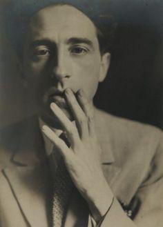 Germaine Krull  Jean Cocteau, 1929