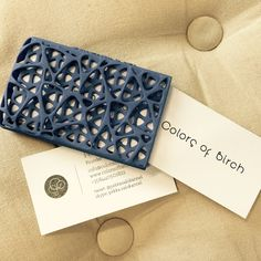 It's all about networking ( Detail of 3D printed product 'Network business card case' )