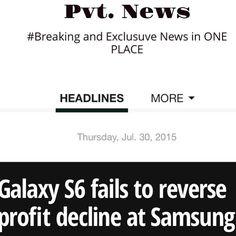 Samsung is LOSING $$ http://ift.tt/1CeNjph #PvtNews Or Google #PvtNews