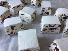 Cranberry Almond Christmas Nougat - The Perfect Christmas Gift
