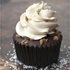 Caramel: Salted Caramel Chocolate Cupcakes