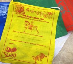 Dharmashop.com - Write Your Own Prayers Set of 25 Flags, $17.00 (http://www.dharmashop.com/write-your-own-prayers-set-of-25-flags/)