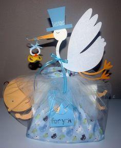 stork bundle diaper cake - Google Search