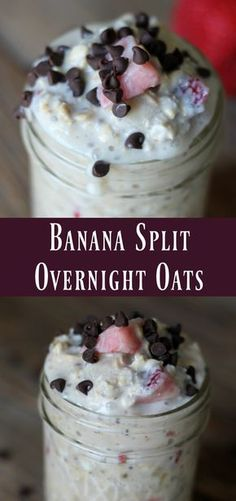 All the flavors of a banana split mixed into a wholesome delicious overnight oats recipe! These are perfect to add to your meal prep recipe rotation. Overnight oatmeal is one of my favorite summer time breakfast recipes. Actually, I like to enjoy overnight oats year-round but I especially like to have a couple jars available …