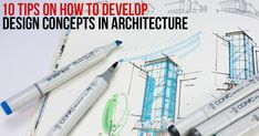 10 Tips on how to Develop Design Concepts in Architecture #architecture #architecturelovers #architecturephotography #architektur #archilovers #architettura #architectureporn #interiors #arquitetura #architettura #archiqoutes #homedecor #instatravel #travelgram #photogram #worldplaces #interiorarchitecture #homedesign #aroundtheworld #instagram #colors #wanderlust #iconic #expression #photography #rethinkingthefuture #urban