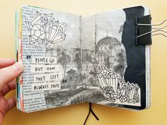 """proudpuddle:  """"i'm so bad at taking photos of my journals   """""""