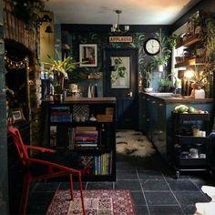 Kitchen interior design – Home Decor Interior Designs Bohemian Kitchen, Bohemian House, Bohemian Style, Home Interior, Kitchen Interior, Interior Design, Kitchen Decor, Interior Livingroom, Interior Garden