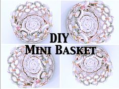 How to make a Basket with Newspaper Yarn - DIY Newspaper Craft - Best out of waste, In this video you will be able to learn the step by step method of, how t. Recycle Newspaper, Newspaper Crafts, Recycled Magazines, Old Magazines, Composting Toilet, Paper Craft Supplies, Creative Crafts, Cool Diy, Hello Everyone