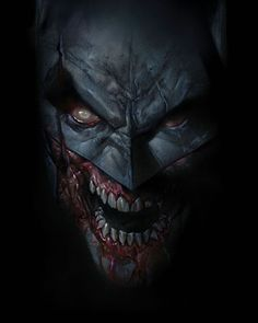 Batman Comic Art, Batman And Superman, Dark Fantasy Art, Dark Art, Ben Oliver, Zombies, Batman Metal, Mtg Altered Art, Comic Style Art