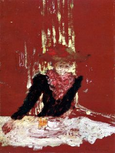 Woman with a Cup of Coffee by Edouard Vuillard