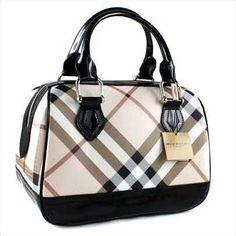 Burberry Handbag Black 9457 ♥♥ Burberry bags  www.burberrysscarfsale.org ♥♥♥