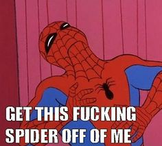 0be838dc465d0dad640c18629686bf20 spider meme funny memes the best of 60s spider man meme spider man, narnia and spiderman,Spidey Memes