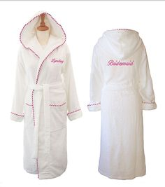 Winter Wedding | Bridal gift ideas | Personalised wedding dressing gown