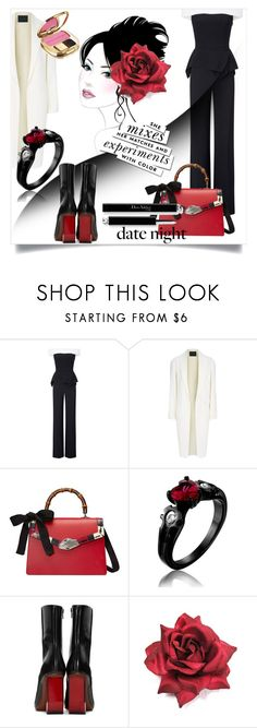 """Hot Date Night Style"" by kari-c ❤ liked on Polyvore featuring Roland Mouret, Alexander Wang, Gucci, Vetements, Kate Spade, Dolce&Gabbana and DateNight"