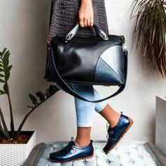 Кожа черная, кожа темно-синня, серая перламутровая.Отделение-2. ширина 40 см | Женские сумки и рюкзаки