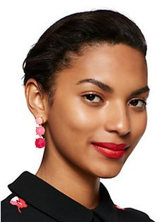 smell the roses linear earrings by kate spade new york