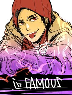 Delsin Rowe from inFAMOUS: Second Son // Art by aimfproto.tumblr.com