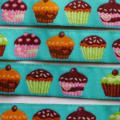 Ruban cup cakes 16 mm