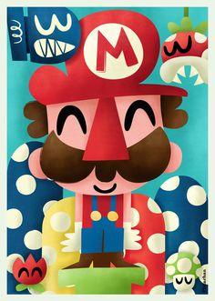 Mario #nintendo #mario #art