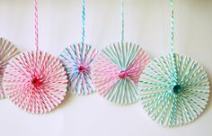 The Tiny Funnel: Christmas String Ornaments