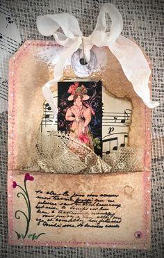 Tag Art ~ Elegant Lady Faye by Christine LeFever