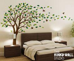 Bedroom wall sticker ideas