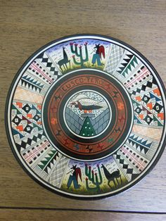 Artisan made peruvian plate by AndeanThreads on Etsy, $40.00 (2)