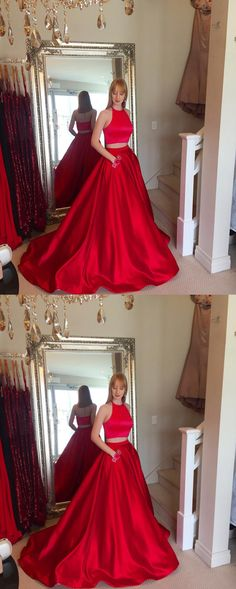 Charming Red Prom Dress, Ball Gown Prom Dresses, Sexy Long Evening Dress P0259 #promdresses #longpromdress #2018promdresses #fashionpromdresses #charmingpromdresses #2018newstyles #fashions #styles #hiprom #redpromdress