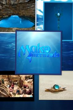 Moon pool, moon ring, Rita's cave and trident from Mako Mermaids.   I do not own any of these images