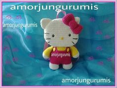 Amorjungurumis. Hello kitty backpack. Plush toy