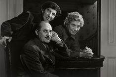 The Marx Brothers (photographed by Yousuf Karsh). Yousuf Karsh, John Lennon And Yoko, Milton Glaser, New York Photos, Canada, National Portrait Gallery, Museum Of Fine Arts, Portrait Art, Great Photos