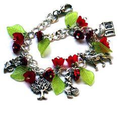Little Red Riding Hood Charm Bracelet  for little ones 3