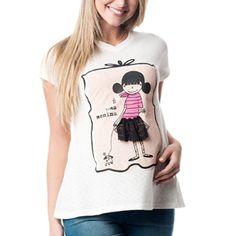 Camiseta É Uma Menina | Camiseteca