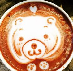 Latte art inspiration