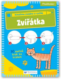 Zvířátka (Kreslíme snadno a rychle - Svojtka & Co) Family Guy, Drawing, Fictional Characters, Learn How To Draw, Animaux, Drawings, Fantasy Characters