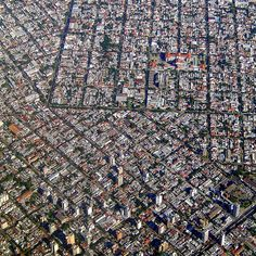 Buenos Aires, Argentina from above by Didier Morlot