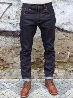 Nudie Jeans Steady Eddie Dry Compact - Nudie Jeans - Denim Heads - Only The Best