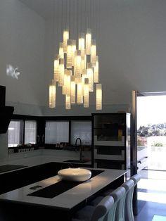Shabbat Candles light in art fixture Light in art Pinterest