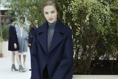 Style Sights – Zara offers a look at its latest styles with the brand's September-October style book starring models Franzi Mueller, Antonina Vasylchenko, Irina Kulikova, Alison Nix and more. The girls pose like they are waiting outside of a fashion show in autumn trends including plaid, boxy coats and leather jackets. For accessories, the group …