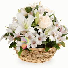 buchete di fiori | Mazzi e composizioni di fiori Bianchi, Consegna a domicilio