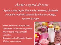 #LunesDeCuidadoPersonal  Los aceites naturales son ideales para mejorar tu piel ¡Prueba esta receta de aceite de rosas!  #GriseldaTovar #Moda #Mujeres #CuidadoPersonal #EnchantedGarden
