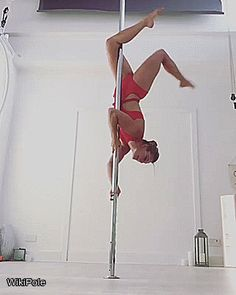 Beautiful Bendy Kate #WikiPole #poledance